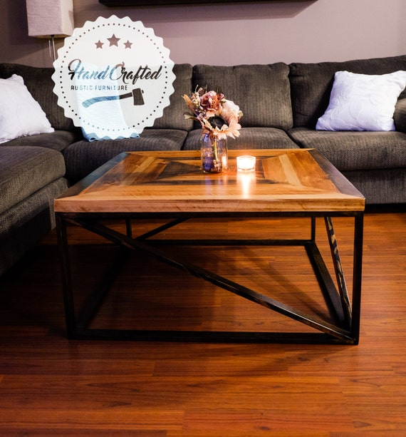 Etsy Wood Oval Coffee Table: Items Similar To Rustic Coffee Table
