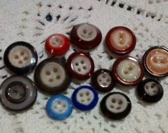 Assortment of China Buttons