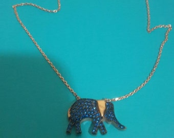 Navy blue elephant