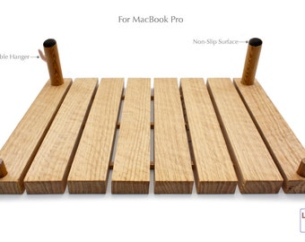 OUT OF STOCK- Hybrid Laptop Stand and Lap Desk For Macbook Pro - Inspired By a Dock on the Bay (Ergonomic)