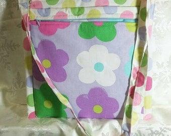 Childrens Messenger bag Floral 12x12