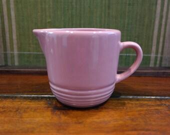 Sakura China Pink Ceramic Creamer