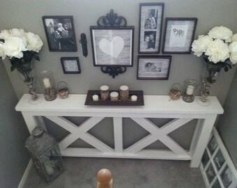 Custom Made Side Board Hall Table