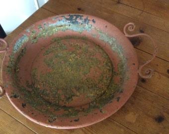 Platter with Amazing Patina