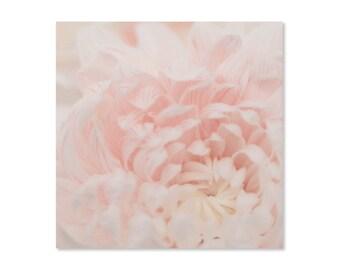 Pink Flower Photo Art Print, Flower Art, Macro Photo