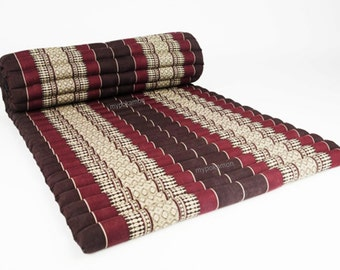 Camping Roll Up Thai Mattress Cushion Yoga Day Bed 79 x 42 x 2 inches.