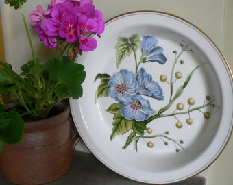 """Vintage Spode Pie Dish """"Stafford Flowers"""" - Made in England"""