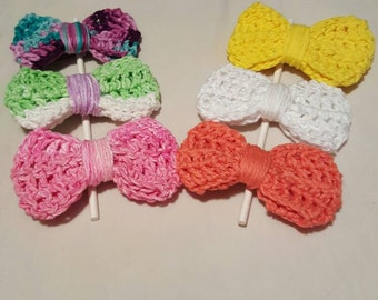Adorable Crochet Bows