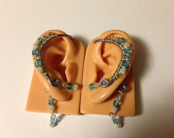 Elegant Ear Wrap Pair. No piercing needed.