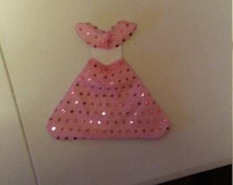 Very cute handmade princess birthday invitations set of 10.