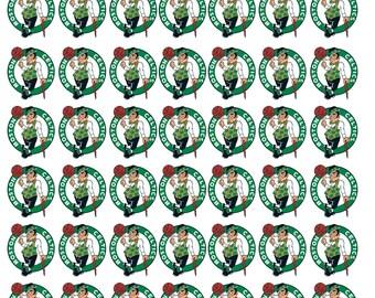 42 Boston Celtics Basketball Stickers