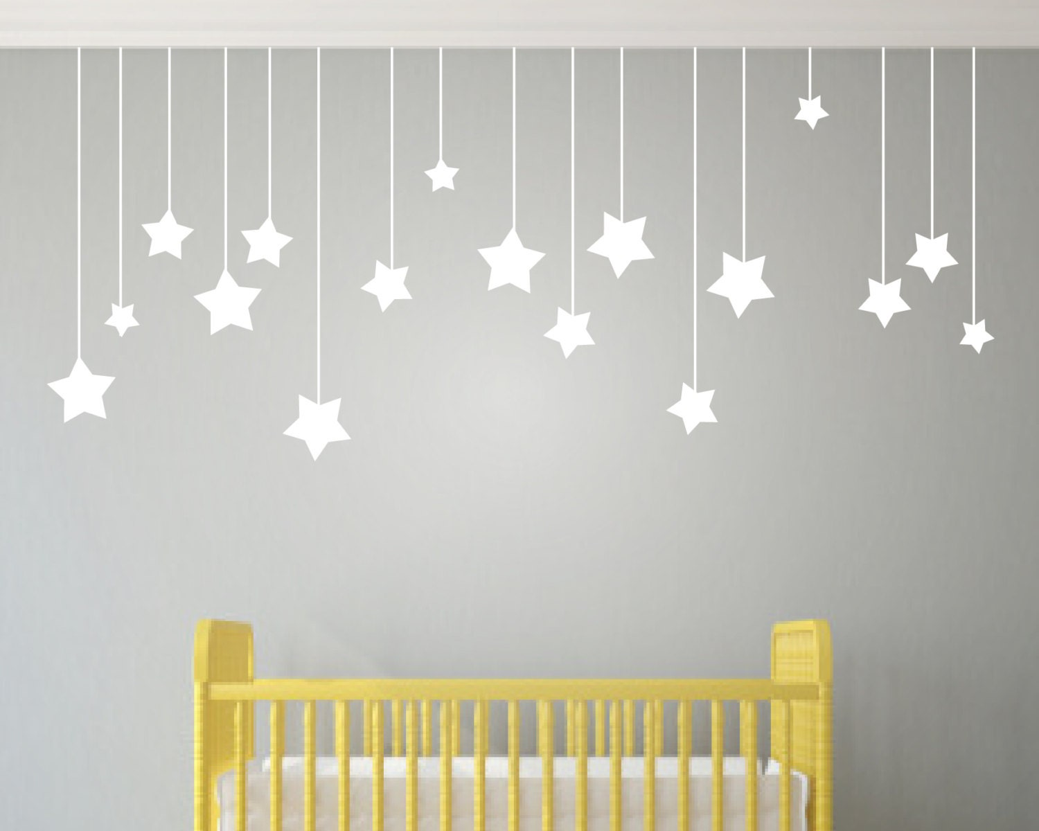 Childrens wall art nursery decor wall by urbanartworkstore for Baby decoration wall
