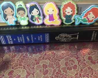 Princess Bookmarks