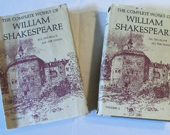 The Complete Works of William Shakespeare Volume 1 & 2