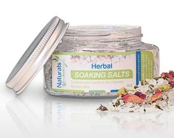 Natural Herbal Soaking Salts