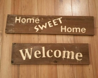 Personalized Greeting Sign