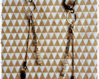 "Retro earrings ""Gatsby"""
