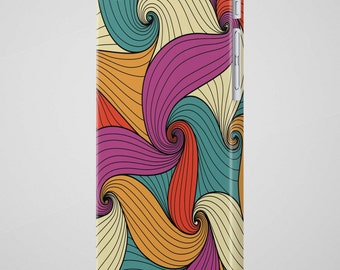 OnePlus 3 Case 3T Colorful Pattern Waves iPhone 7 Case iPhone 6 Case iPhone SE Case iPhone 7 Plus Case iPhone 6S Case iPhone 5 Case Pattern