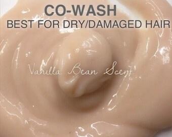 Pink Rose Clay CoWash: Magnolia Vanilla Bean Scent