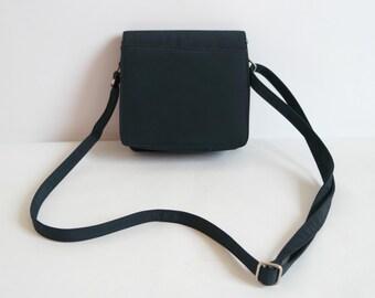 Women's Dark Blue Crossbody Bag, Blue Shoulder Bag, Small Size Crossbody Bag, Mini Bag