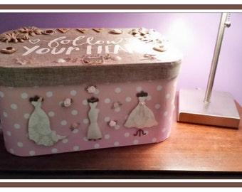 Just married-keepsake box