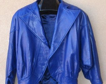 Women's Leather Jacket Sz Medium Made in France by Jitois