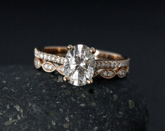 Handcrafted Engagement Rings Wedding Rings by lovebyohkuol