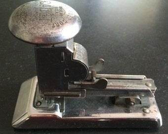 Vintage Ace Cadet 302 Chrome Stapler