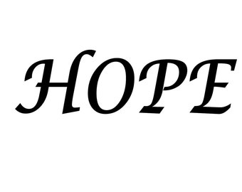 hope book fold pattern