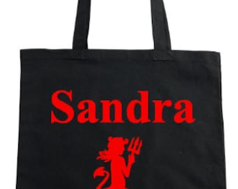Tote Bag - Devil (with or without name)