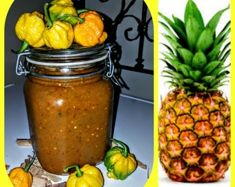 Red Zone Pineapple Lime Peppersauce