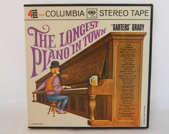 Vintage Reel to Reel, 4 Track, Reel to Reel, Garters Grady, The Longest Piano in Town, Piano Music