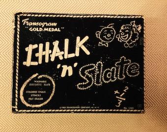 Transogram Chalk 'n' Slate - 1951