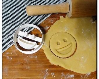 Cookie Cutter Emoticone Emoji Smiley big smile