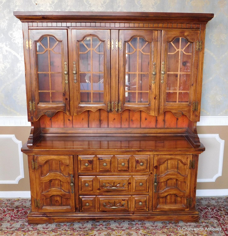 pine and veneered burlington house furniture dining room