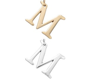 "Letter ""M"" (Silver or gold) [5 pieces]"