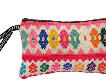 Incan Woven Cosmetic Bag