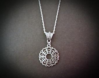 Crown Chakra Beautiful Pendant Necklace Inspired By Chakra Healing.