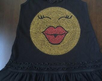 Emoji Kiss Dress