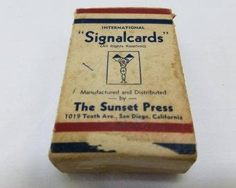 Sunset Press International Signal Cards