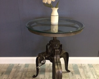 Adjustable Crank Table-LOCAL SALE ONLY