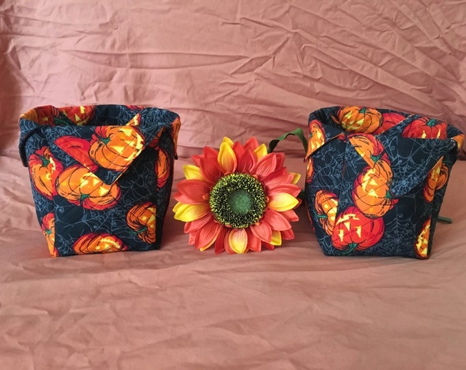 Large Spooky Fabric Boxes