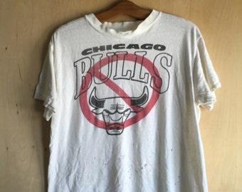 80's Anti Chicago Bulls T-Shirt