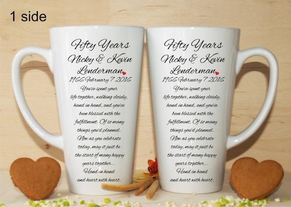 20th Wedding Anniversary Gift List : 20th/30th/40th/50th anniversary gift-Anniversary mugs-Anniversary gift ...