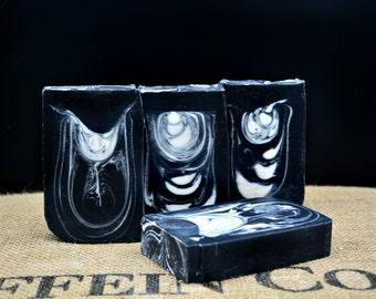 Black Tie Soap for men