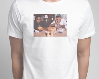 White asap rocky & tyler the creator shirt - ANY SIZING AVAILABLE