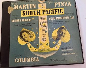 Mary Martin South Pacific Original Broadway Cast 1949 Box Set 4 45rpm Rare Item
