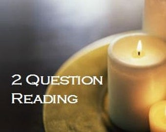 Psychic Readings by Email, Clairvoyant Readings, 2 Question Psychic Reading