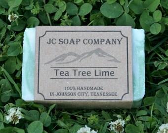 Tea Tree Lime Soap