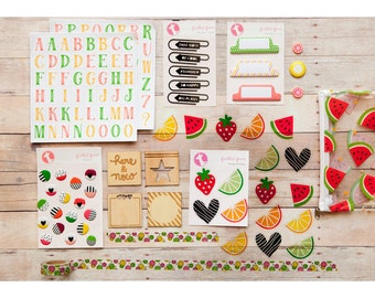 CITRUS TWIST Embellishment Kit